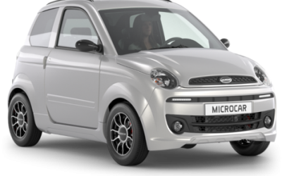 Microcar Mgo 4 premium Zilver